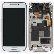 Модуль (сенсор и дисплей) Samsung Galaxy S4 mini i9195 белый ORIGINAL, фото 1