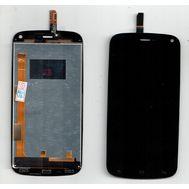 Модуль (тачскрин и дисплей) Fly IQ4410 черный, фото 1