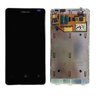 Модуль (сенсор и дисплей) Nokia Lumia 800 черный, фото 1