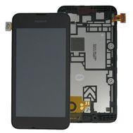 Модуль (сенсор и дисплей) Nokia Lumia 530 черный, фото 1