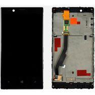 Модуль (сенсор и дисплей) Nokia Lumia 720 с рамкой черный, фото 1