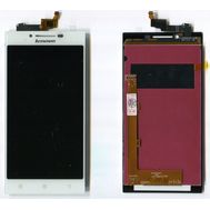 Модуль (сенсор и дисплей) Lenovo P70 белый, фото 1