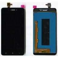 Модуль (сенсор и дисплей) Lenovo S60 черный, фото 1