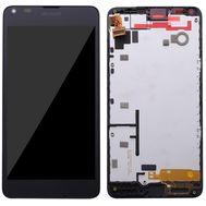 Модуль (сенсор и дисплей) Nokia Lumia 640 с рамкой черный, фото 1