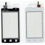 Сенсор тачскрин Lenovo A1000 смартфон белый, фото 1