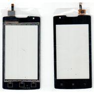 Сенсор тачскрин Lenovo A1000 смартфон черный, фото 1