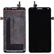 Модуль (сенсор и дисплей) Lenovo S580 черный, фото 1