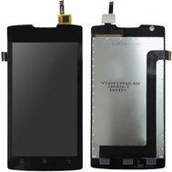 Модуль (сенсор и дисплей) Lenovo A1000 черный, фото 1