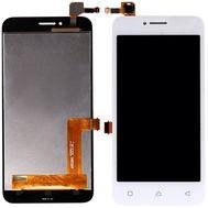 Модуль (сенсор и дисплей) Lenovo A1010 A Plus (A1010a20) / A2016 Vibe B (A2016a40) белый, фото 1