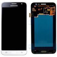 Модуль (сенсор и дисплей) Samsung Galaxy J3 2016 J320 / J320F / J320M / J320FN белый (яркость регулируется), фото 1