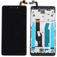 Модуль (сенсор и дисплей) Xiaomi RedMi Note 4x черный с рамкой, фото 1