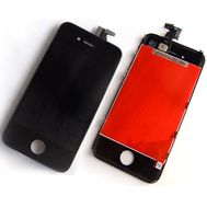 Модуль (сенсор и дисплей) iPhone 4S черный, фото 1