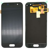 Модуль (сенсор и дисплей) Samsung A3 2017 / A320 черный (яркость регулируется), фото 1