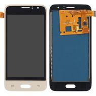 Модуль (сенсор и дисплей) Samsung GALAXY J1 2016 J120 / J120H / J120F / J120A / J120M золото (яркость регулируется), фото 1