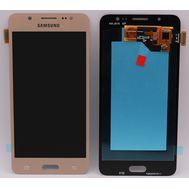 Модуль (сенсор и дисплей) Samsung Galaxy J5 2016 J510 / J510F / J510H / J510G золотой (яркость регулируется), фото 1