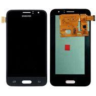 Модуль (сенсор и дисплей) Samsung GALAXY J1 2016 J120 / J120H / J120F / J120A / J120M черный (яркость регулируется), фото 1