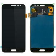 Модуль (сенсор и дисплей) Samsung Galaxy J3 2016 J320 черный (яркость регулируется), фото 1