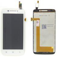 Модуль (сенсор и дисплей) Lenovo S650 белый ORIGINAL, фото 1