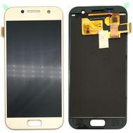 Модуль (сенсор и дисплей) Samsung A3 2017 / A320 золотой (яркость регулируется), фото 1