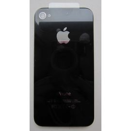Задняя крышка iPhone 4S черная, ZS03040 фото 1