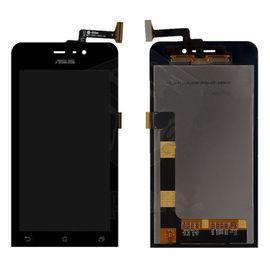 Модуль (тачскрин и дисплей) Asus ZenFone 4 черный, MSS01003 фото 1