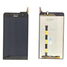 Модуль (дисплей и сенсор) Asus Zenfone 6 (A600CG) черный, MSS01002 фото 1