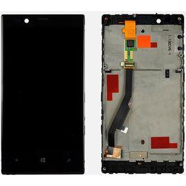 Модуль (сенсор и дисплей) Nokia Lumia 720 с рамкой черный, MSS04018 фото 1