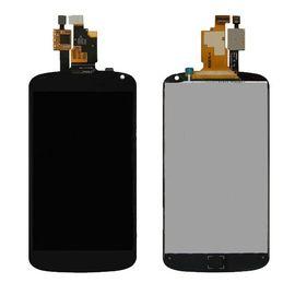 Модуль (сенсор и дисплей) LG Google Nexus 4 E960 черный, MSS05049 фото 1