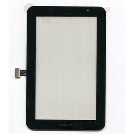Сенсор для планшета Samsung P3100, версия Wi-fi, без выреза под динамик, черный, ST08062 фото 1