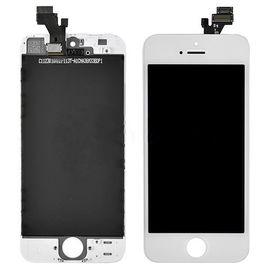 Модуль (сенсор и дисплей) iPhone 5 белый, MSS03004 фото 1