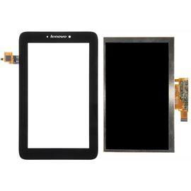 Модуль (сенсор и дисплей) Lenovo IdeaTab A2107 черный, MT09104 фото 1