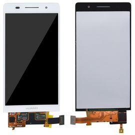 Модуль (тачскрин и дисплей) Huawei Ascend P6 / P6-U06 белый, MSS11125 фото 1
