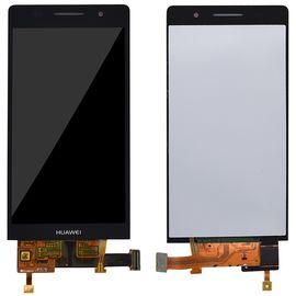 Модуль (тачскрин и дисплей) Huawei Ascend P6 / P6-U06 черный, MSS11126 фото 1