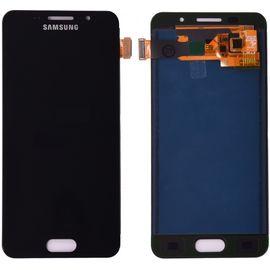 Модуль (сенсор и дисплей) Samsung A3 2016 / A310 черный ORIGINAL, MSS08141 фото 1