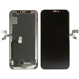 Модуль (сенсор и дисплей) iPhone Xs черный OLED, MSS03090 фото 1