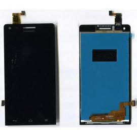 Модуль (тачскрин и дисплей) Huawei G6-U10 / P7 Mini / L11 / L22 / L33 черный, MSS11006 фото 1