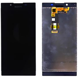 Модуль (сенсор и дисплей) Sony Xperia L1 G3311 / G3312 / G3313 черный, MSS06072  фото 1