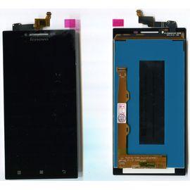 Модуль (сенсор и дисплей) Lenovo P70 черный ORIGINAL, MSS09096O фото 1