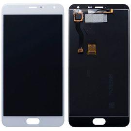 Модуль (тачскрин и дисплей) Meizu M1 Metal белый, MSS12007 фото 1