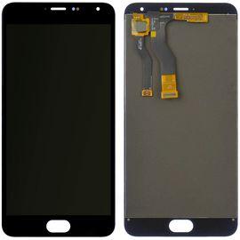 Модуль (тачскрин и дисплей) Meizu M1 Metal черный, MSS12008 фото 1
