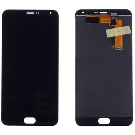 Модуль (тачскрин и дисплей) Meizu M2 Note черный, MSS12010 фото 1