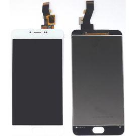 Модуль (тачскрин и дисплей) Meizu M3 / M3 Mini (кнопка Home 7х14,5 мм) белый, MSS12016 фото 1