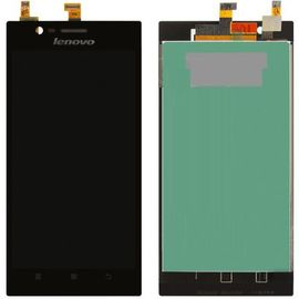 Модуль (сенсор и дисплей) Lenovo K900 черный ORIGINAL, MSS09088O фото 1