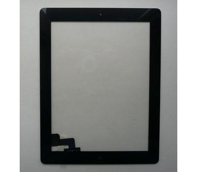 Сенсор тачскрин Apple iPad 2 черный с кнопкой, фото 1