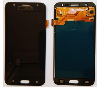 Модуль (сенсор и дисплей) Samsung Galaxy J5 J500 / J500F / J500H черный (яркость регулируется), фото 1