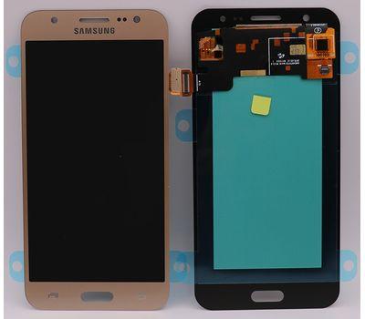 Модуль (сенсор и дисплей) Samsung Galaxy J5 J500 / J500F / J500H золотой (яркость регулируется), фото 2