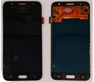 Модуль (сенсор и дисплей) Samsung Galaxy J5 J500 / J500F / J500H черный (яркость регулируется), фото 3