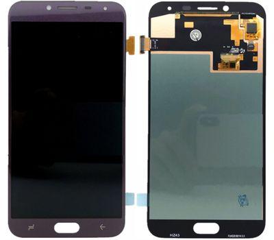Модуль (сенсор и дисплей) Samsung J4 2018 / J400 фиолетовый (яркость регулируется), фото 1