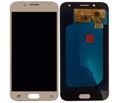 Модуль (сенсор и дисплей) Samsung Galaxy J5 2017 J530F TFT золотой Gold (яркость регулируется), фото 2