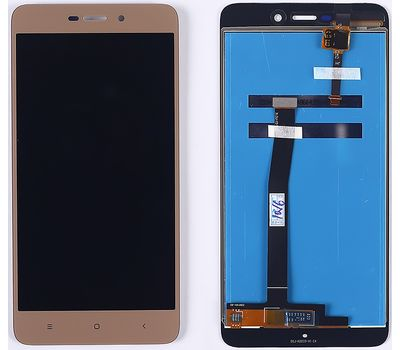 Модуль (сенсор и дисплей) Xiaomi RedMi 4a золотой, фото 1